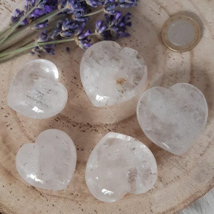 bergkristal hartjes