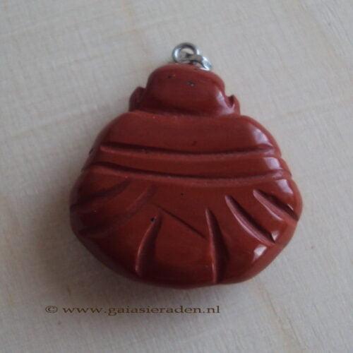 Boeddha Jaspis Rood